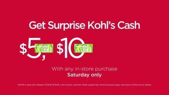 Kohl's Surprise! Saturday Sale TV Spot, 'Sweaters, Outerwear & Appliances' - Thumbnail 3