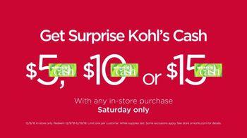 Kohl's Surprise! Saturday Sale TV Spot, 'Sweaters, Outerwear & Appliances' - Thumbnail 4