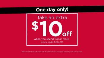 Kohl's Surprise! Saturday Sale TV Spot, 'Sweaters, Outerwear & Appliances' - Thumbnail 9