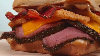 Arby's Petite Filet Steak Sandwich TV Spot, 'Exact Cut' Song by Yogi - Thumbnail 7