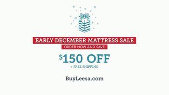 Leesa Early December Mattress Sale TV Spot, 'Dangerously Comfortable' - Thumbnail 10