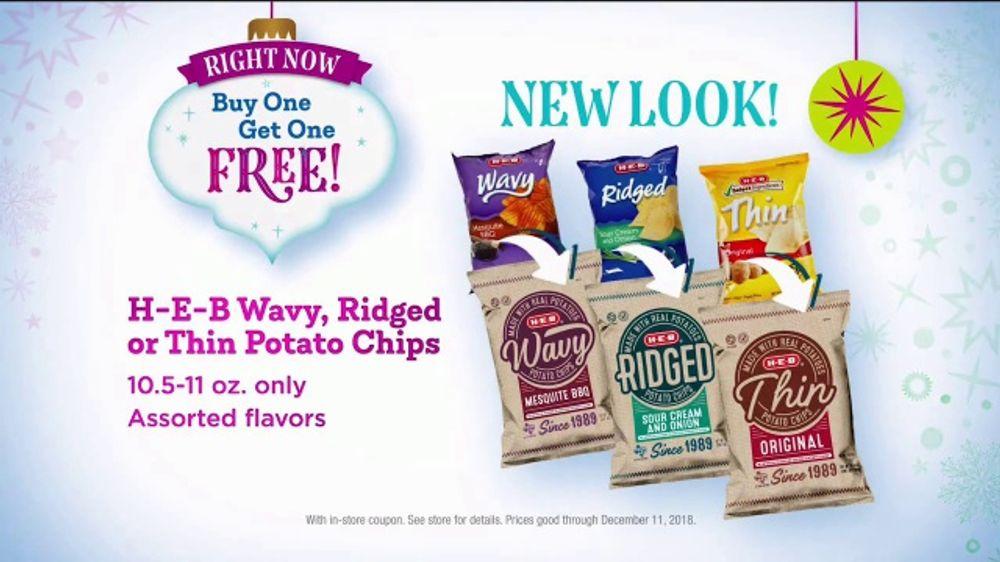 H-E-B TV Commercial, 'Crush the Holiday Dinner: Potato Chips' - Video