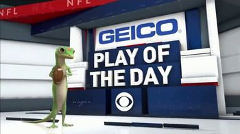 GEICO TV Spot, 'CBS Sports: Play of the Day: Seat in the Sun' - Thumbnail 8