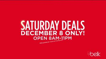 Belk Christmas Sale TV Spot, 'Saturday Doorbusters'