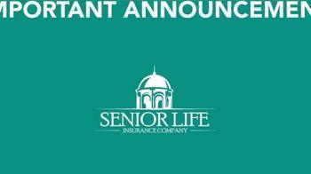 Senior Life Insurance Company TV Spot, 'Important Announcement' - Thumbnail 1