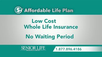 Senior Life Insurance Company TV Spot, 'Important Announcement' - Thumbnail 6