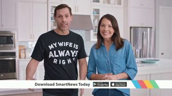 SmartNews TV Spot, 'My Wife Is Always Right' - Thumbnail 9