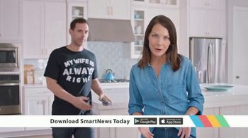 SmartNews TV Spot, 'My Wife Is Always Right' - Thumbnail 3