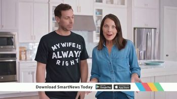 SmartNews TV Spot, 'My Wife Is Always Right'