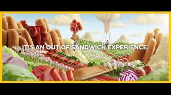 Subway Ultimate Cheesy Garlic Bread TV Spot, 'Out of Sandwich Experience'