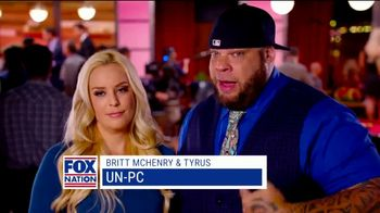 Fox Nation TV Spot, 'Different Side' Featuring Britt McHenry, Tyrus - 11 commercial airings