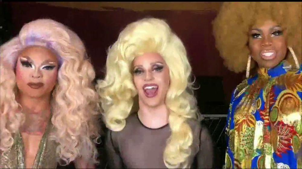 A Drag Queen Christmas.Murray Peter Present Tv Commercial A Drag Queen Christmas The Naughty Tour Video