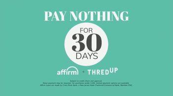 thredUP x Affirm TV Spot, 'Attention Shoppers' - Thumbnail 5