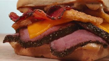 Arby's Petite Filet Steak TV Spot, 'Served in a Cardboard Box' Song by Yogi