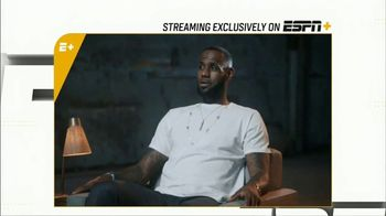ESPN+ TV Spot, 'More Than An Athlete' - 2 commercial airings