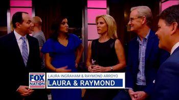 Fox Nation TV Spot, 'Makeup' Featuring Laura Ingraham, Raymond Arroyo