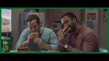 Subway Ultimate Cheesy Garlic Bread TV Spot, 'Not Weird' - Thumbnail 2