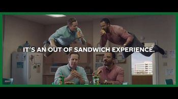 Subway Ultimate Cheesy Garlic Bread TV Spot, 'Not Weird'