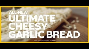 Subway Ultimate Cheesy Garlic Bread TV Spot, 'Not Weird' - Thumbnail 5