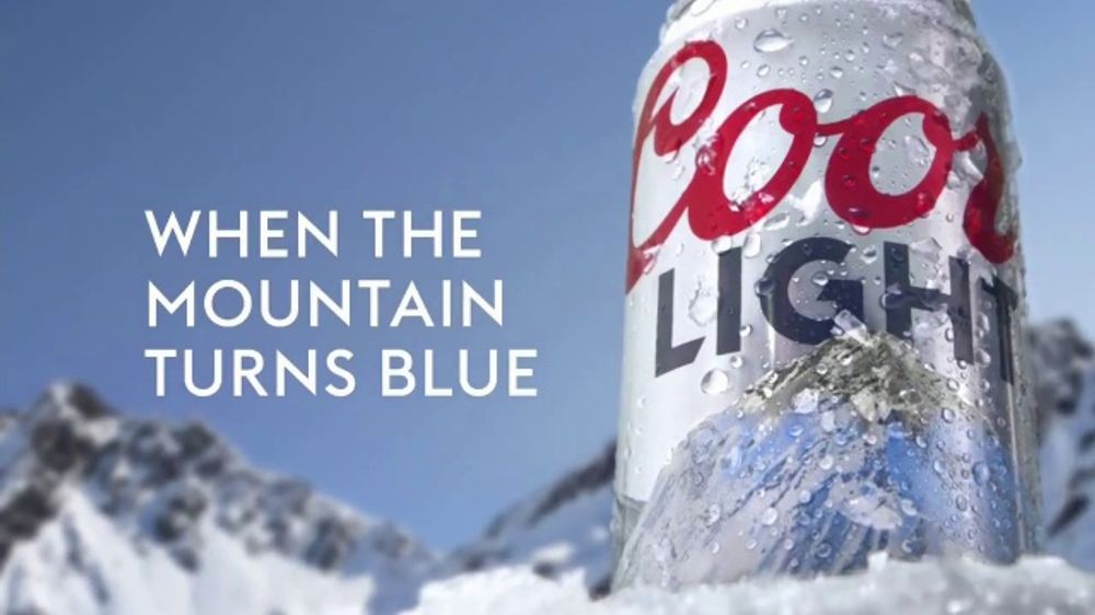 coors light tv commercial snow ispottv