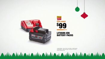 The Home Depot TV Spot, 'Holidays: Planning Surprises: Battery Packs' - Thumbnail 9