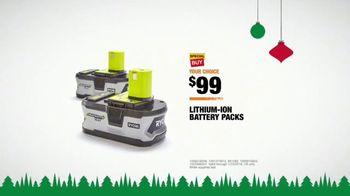 The Home Depot TV Spot, 'Holidays: Planning Surprises: Battery Packs' - Thumbnail 8
