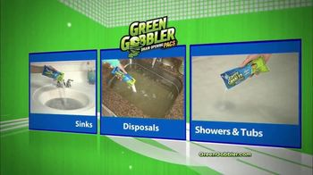 Green Gobbler Drain Opening Pacs TV Spot, 'Activated by Water' - Thumbnail 6