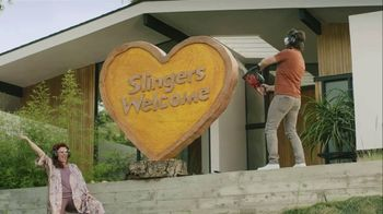 Sling TV Spot, 'Statue: Roku' Featuring Nick Offerman, Megan Mullally - Thumbnail 7