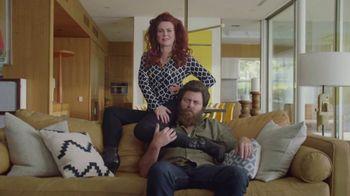 Sling TV Spot, 'Statue' Featuring Nick Offerman, Megan Mullally - Thumbnail 2