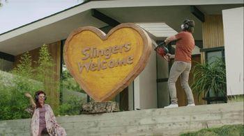 Sling TV Spot, 'Statue' Featuring Nick Offerman, Megan Mullally - Thumbnail 7