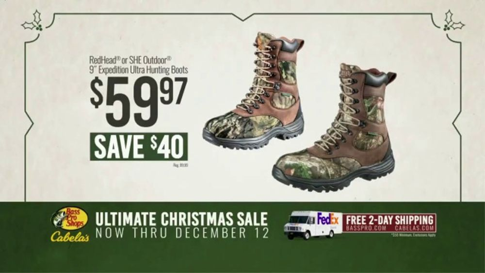 e6fc56bdf4 Bass Pro Shops Ultimate Christmas Sale TV Commercial