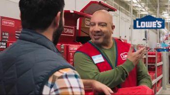Lowe's Holiday Savings TV Spot, 'Tool Guys: Craftsman Cordless Drill' - Thumbnail 9