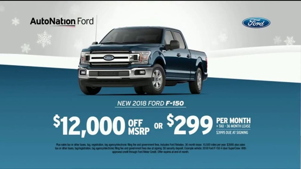 AutoNation Year End Event TV Commercial, '2018 F-150'