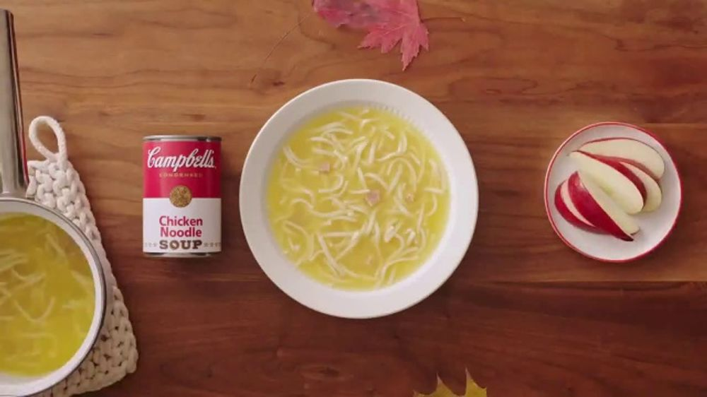 campbell's chicken noodle soup tv commercial