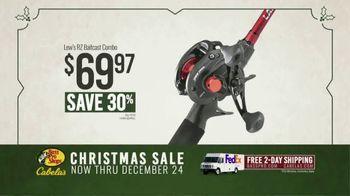 Bass Pro Shops Christmas Sale TV Spot, 'Lew's RZ Baitcast Combo'