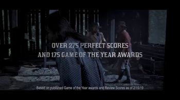 Red Dead Redemption 2 TV Spot, 'Accolades' - Thumbnail 5