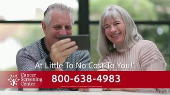 Cancer Screening Center TV Spot, 'In-Home Cancer Screening'