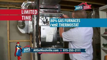 ARS Rescue Rooter Free Furnace Time TV Spot, 'Nest Thermostat' - Thumbnail 3
