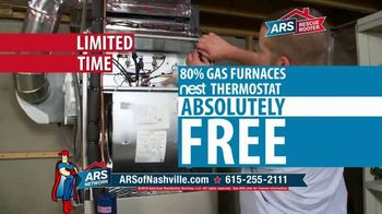 ARS Rescue Rooter Free Furnace Time TV Spot, 'Nest Thermostat' - Thumbnail 4