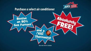ARS Rescue Rooter Free Furnace Time TV Spot, 'Nest Thermostat' - Thumbnail 5