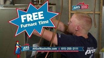 ARS Rescue Rooter Free Furnace Time TV Spot, 'Nest Thermostat'