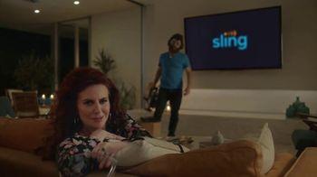 Sling TV Spot, 'Mood: Tax Offer' Featuring Nick Offerman, Megan Mullally - Thumbnail 6