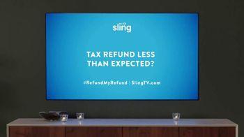 Sling TV Spot, 'Mood: Tax Offer' Featuring Nick Offerman, Megan Mullally - Thumbnail 7