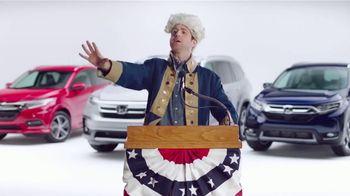 Honda Presidents Day Sale TV Spot, 'Presidential' [T2] - Thumbnail 4