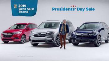 Honda Presidents Day Sale TV Spot, 'Presidential' [T2] - Thumbnail 8