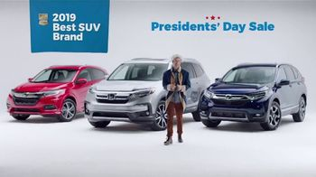 Honda Presidents Day Sale TV Spot, 'Presidential' [T2] - Thumbnail 9
