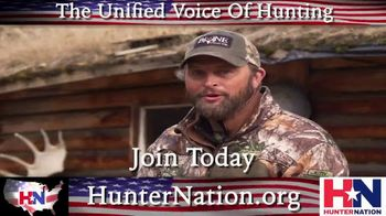 Hunter Nation TV Spot, 'Unified Fight' Featuring Michael Waddell - 205 commercial airings