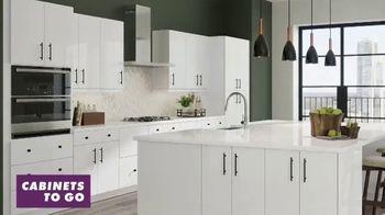 Cabinets To Go White Cabinet Sale TV Spot, 'Free Kitchen Design'