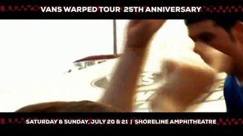 2019 Vans Warped Tour TV Spot, '25th Anniversary: Mountain View' - Thumbnail 3