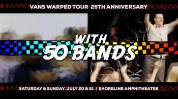 2019 Vans Warped Tour TV Spot, '25th Anniversary: Mountain View' - Thumbnail 4